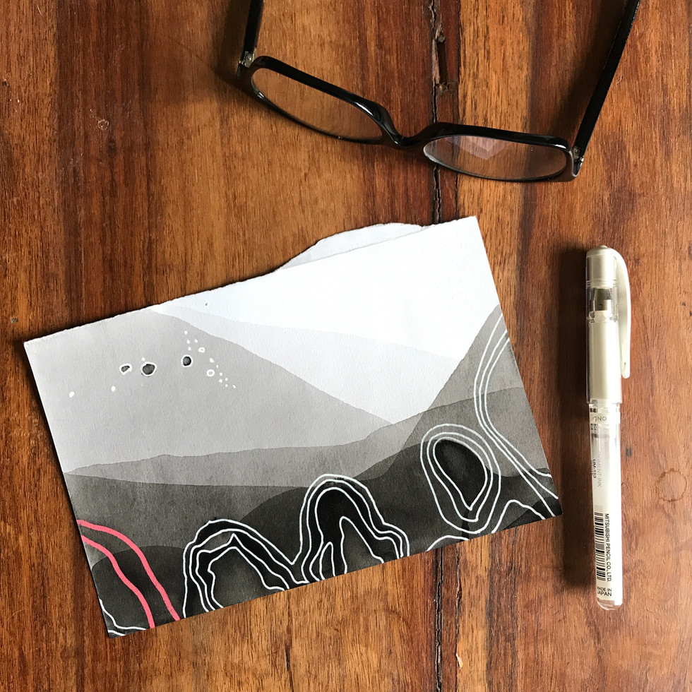 Inscape drawing series