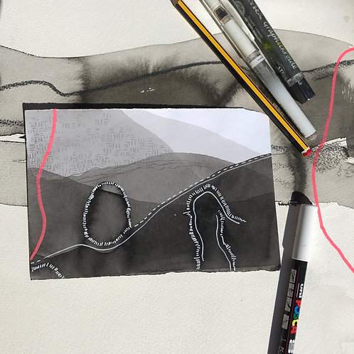 Inscape drawing #2
