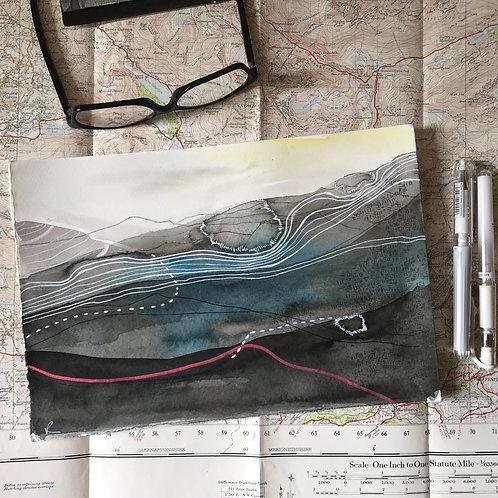 Snowdon Drawing #06