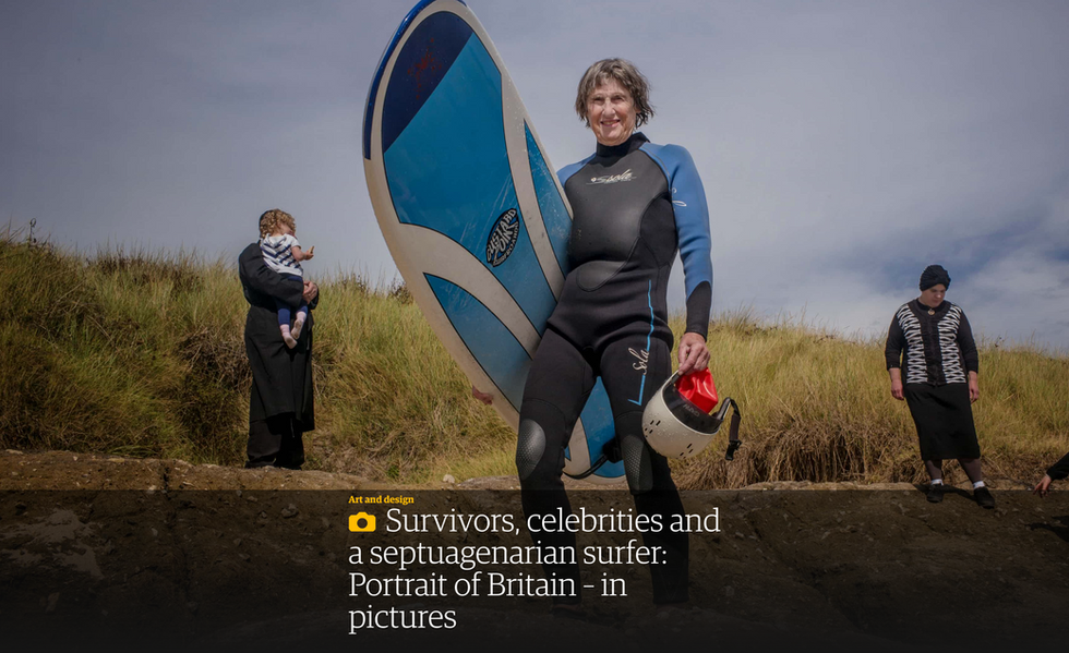 Guardian review of Portrait of Britain