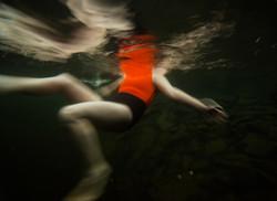 Underwater figure