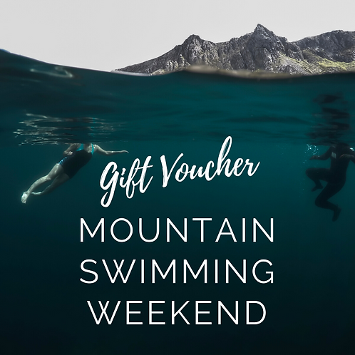 Mountain Swimming Weekend - Gift Voucher