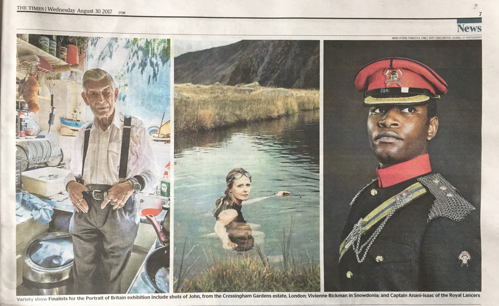 Portrait of Britain in In today's Times!