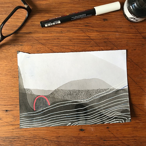 Inscape drawing #6