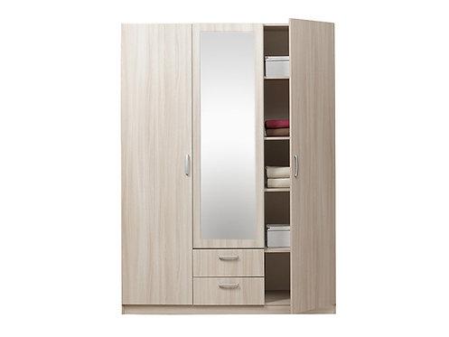"ДОМЭКО ""Шкаф 3-х дверный с зеркалом Эко"""