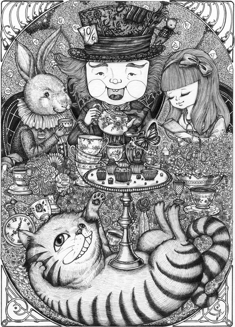 Tea time with Mad Hat
