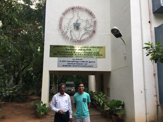 "Meeting a true ""Algae Explorer"" in Trichy, India"