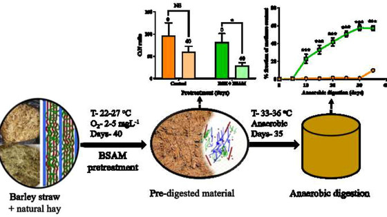 New paper: Increasing bio-methane production by 3300% by choosing the right microbial consortium