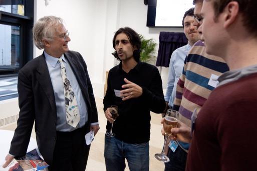 Explaining the Movember 'tache to Professor Dawkins
