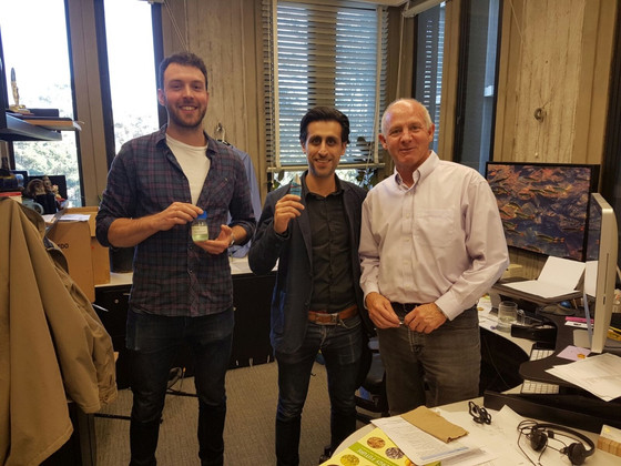 """Stephen and Jags meet the """"Godfather of Algae"""""""