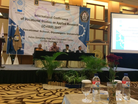 Key note speech: Dr. Pandhal presents at ICoVAR 2017 on the importance of industry inspired research