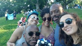 with biggg artists Chiara Fasi / Daphné mia Essiet /EJ & Marcus Strickland