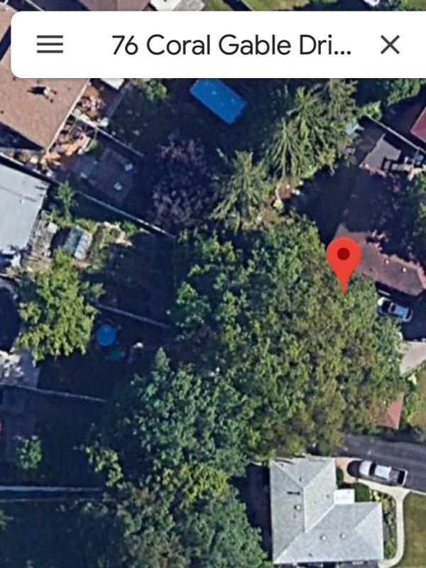 satellite view of oak