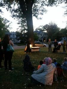 2013 tree day evening