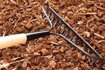 Shredded Hardwood Mulch - 2 cu ft