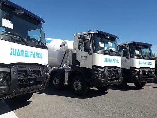 camiones hormigonera nuevos renault k