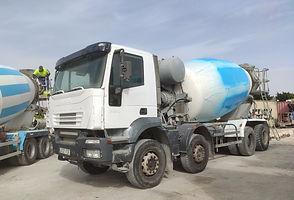 Camion hormigonera iveco