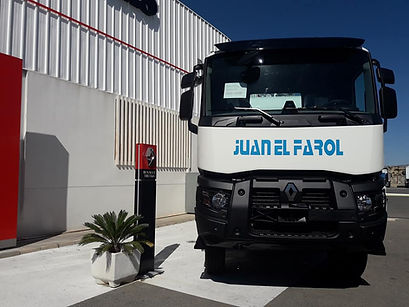 camion hormigonera nuevo en renault de Alicante