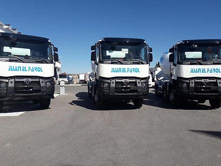 camiones hormigonera renault nuevos frumecar