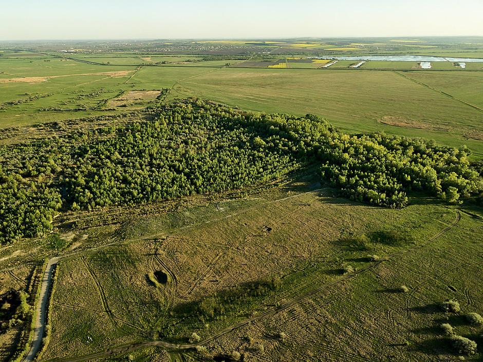Drónfotók a területről IV. - Sóderbánya
