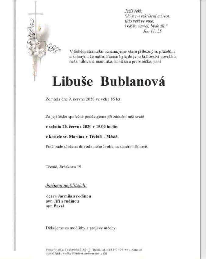 Libuše Bublanová