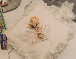 Rosebud ring cushion