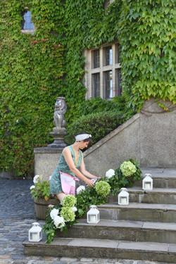 Walton Castle Wedding Flowers