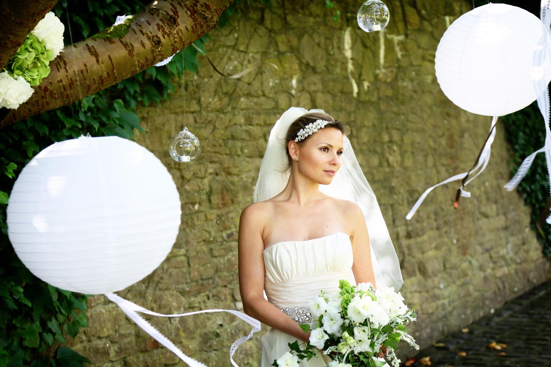 Walton Castle wedding wishing tree