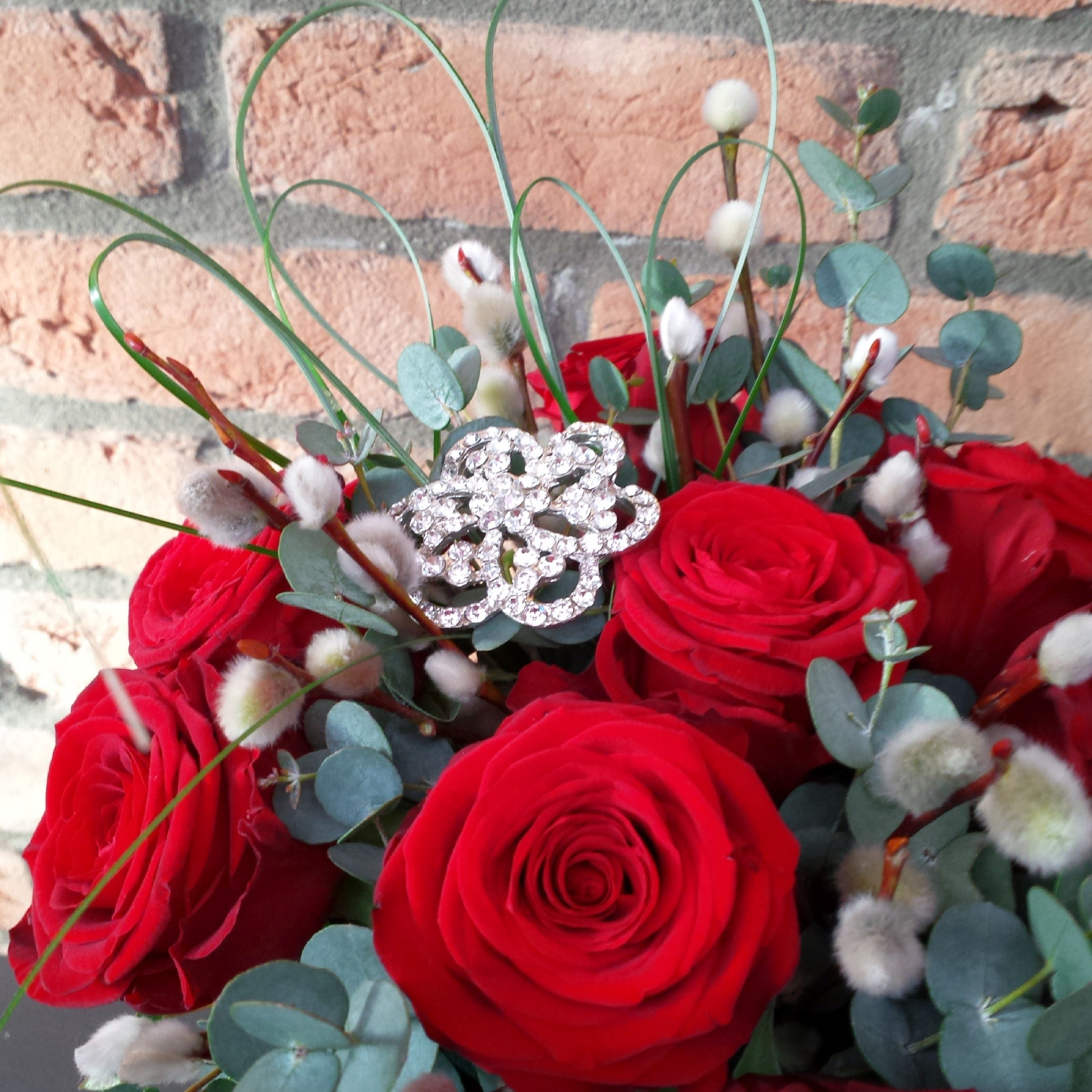 12 Red Roses for Valentine's Day