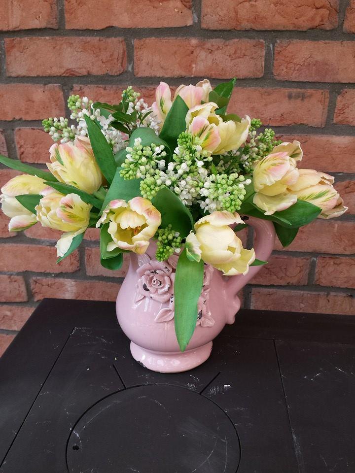 Vase arramangent