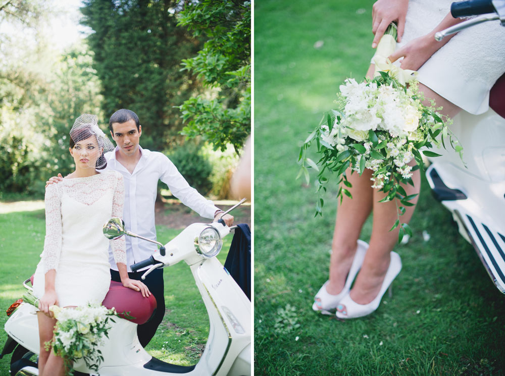 Italian inspired bride & groom on scooter.jpg