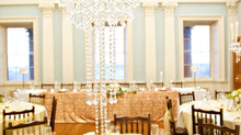 Wedding Centrepieces at a prestigious venue in Bath