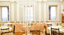 Wedding Centrepieces at a prestigious venue in Bath