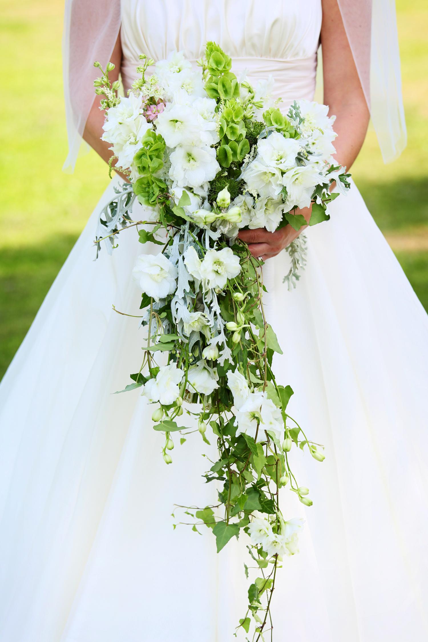Walton Castle bride's bouquet