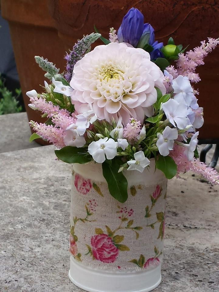 Petite Tin Can Floral