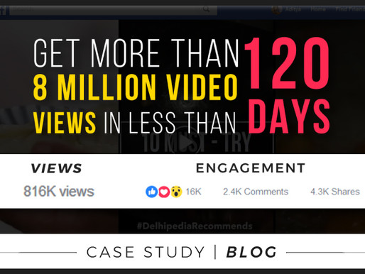 How we reached more than 8 million video views in 4 months on Facebook