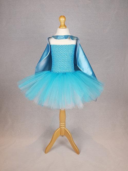 Plain Tutu Dress & Cape