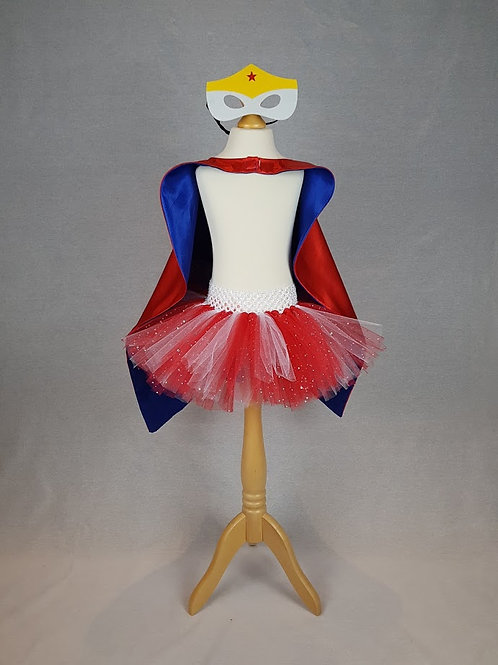 'Superhero' Tutu Dress Outfit