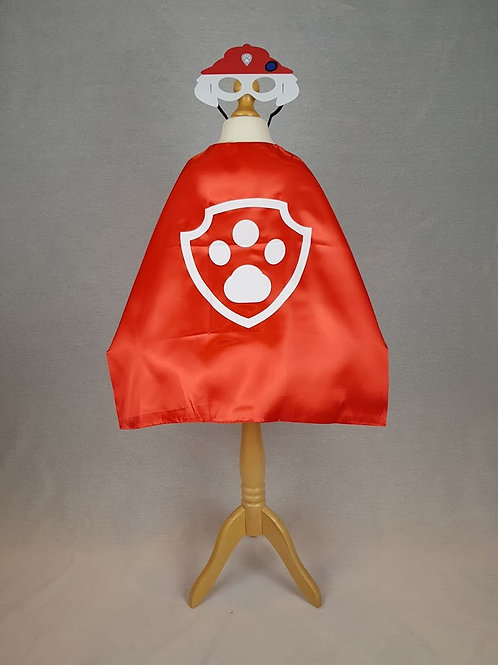 """Character"" Cape & Mask"