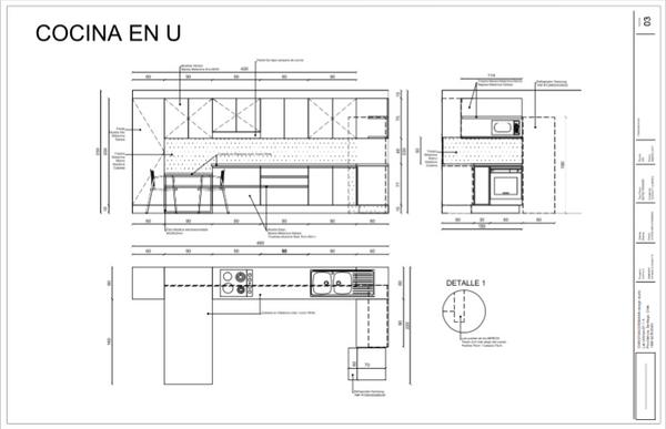 Cocina U PLANO Christian Erdmann Design