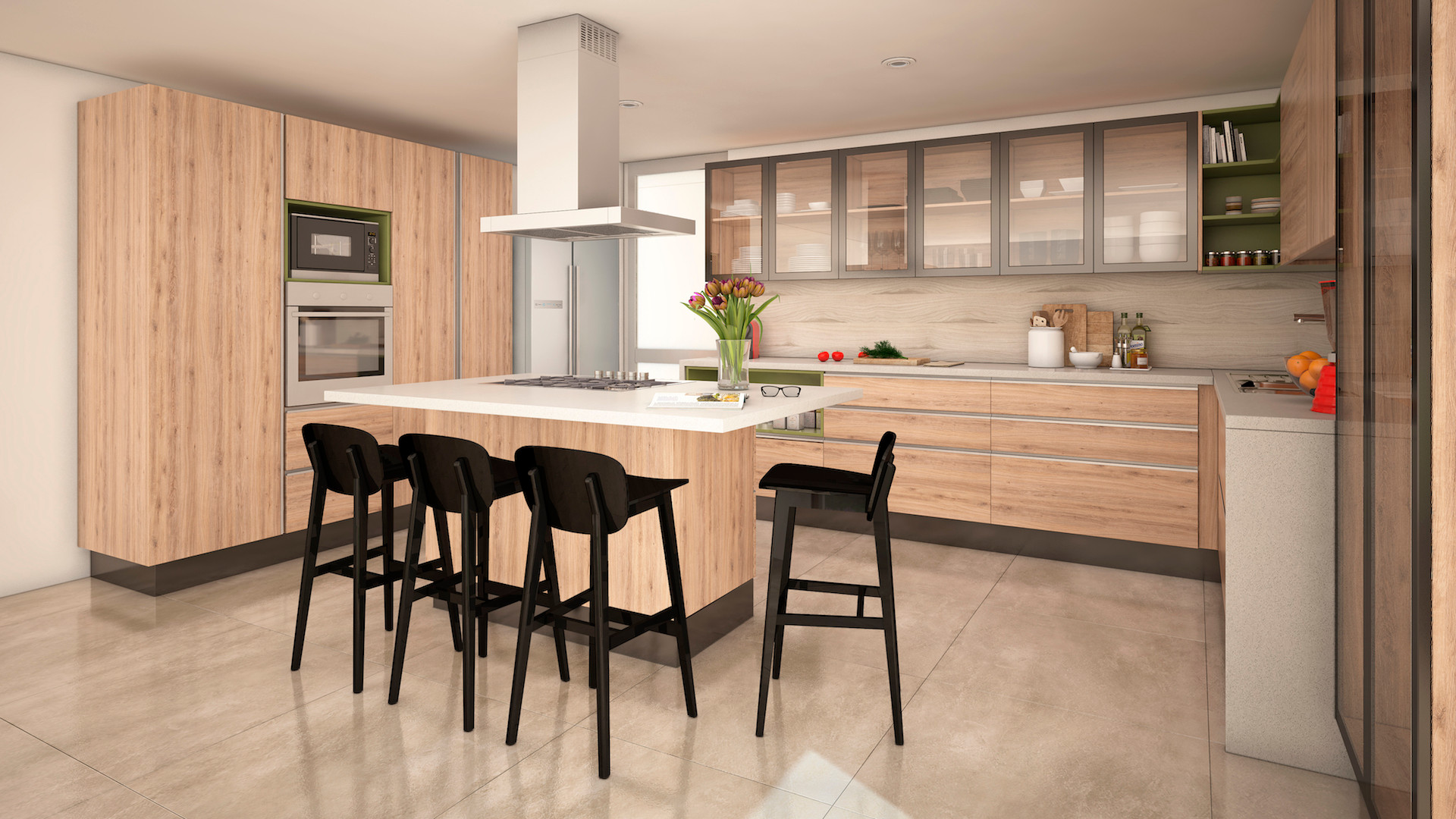 Cocina Masisa-U Isla 02 Christian Erdmann Design