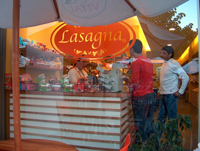 Alimentos Lasagna