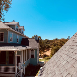 Nevada County roof can get STEEP!