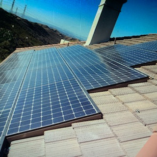 Expert solar installations on tile roof