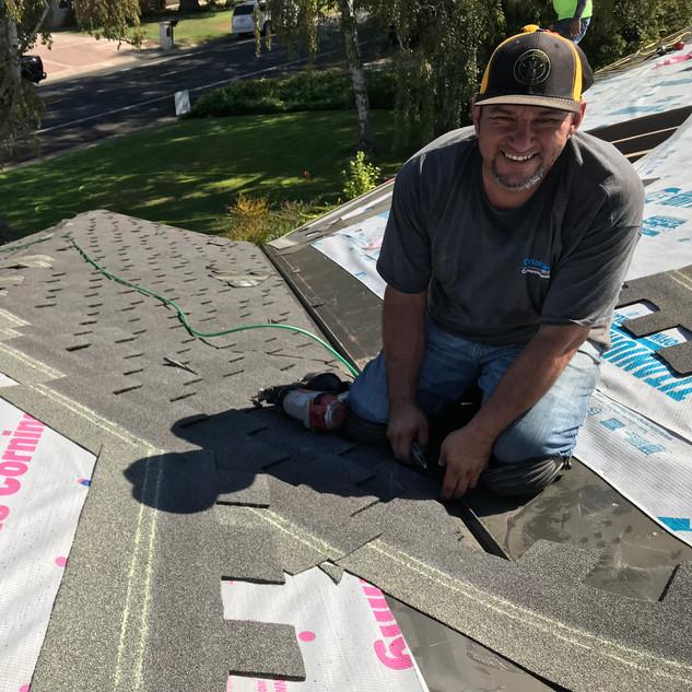 Smile, I make great roof valley details