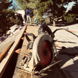 ridge vent cut