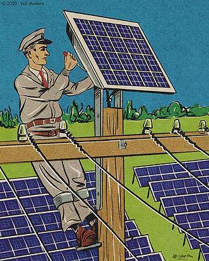 commercial solar technician