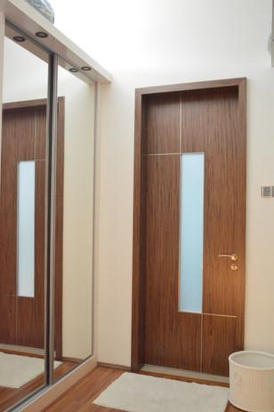 Bungalow House Bathroom Door
