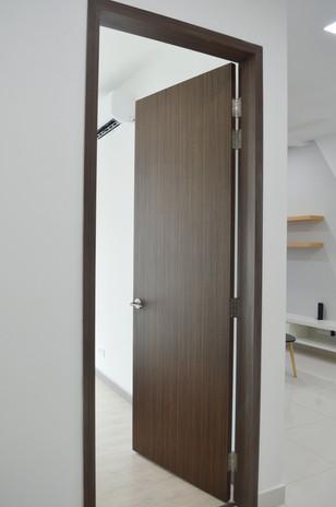 Apartment Door and Door Frame Design