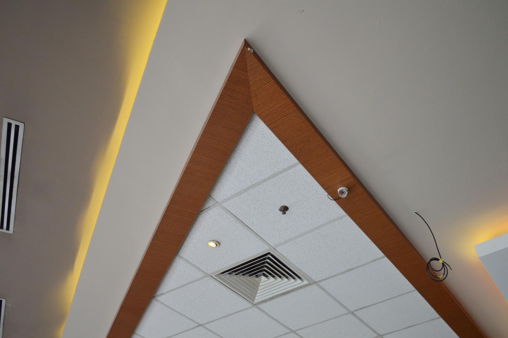 KSL Infusion Cafe Interior Wooden Design
